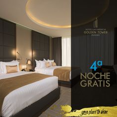 We would love to have you for an additional night. Book now on: http://lasamericasgoldentower.com/en/portfolio/oferta3/