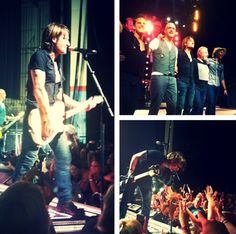 Keith Urban - Light The Fuse Tour 2013. (Photo from Instagram).