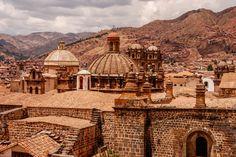 Brown City - Cusco Peru.