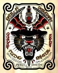 paul dobleman tattoo #panter tattoo#old schooll tattoo