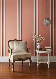 Date Night Durable Matt Emulsion Coral Wallpaper, Brown Paint, Graham Brown, Paint Shop, Paint Finishes, Coral Pink, Designer Wallpaper, House Painting, Color Pop
