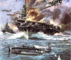 "1942/"" Wall Decal /""Aircraft Carrier"