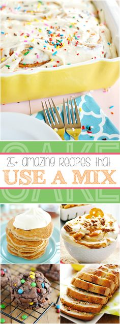 25+ Recipes You'd Never Guess Start with a Box Mix