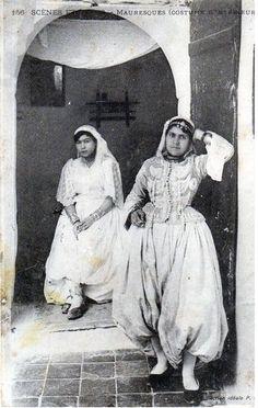 Maroc, costumes d'intérieur