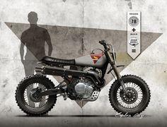 Honda NX 650 dominator - Dream Wheels Heritage