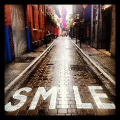 Smile by #canvaz Dame Lane