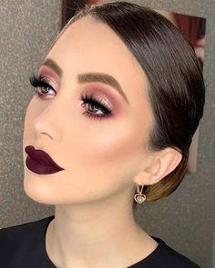 makeup makeup goals 30 The Newest Glam makeup idea Glam Makeup, Formal Makeup, Skin Makeup, Makeup Inspo, Eyeshadow Makeup, Makeup Inspiration, Makeup Style, Bridal Makeup, Perfect Makeup