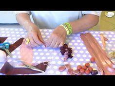 """Tutorial cucito creativo """"Fiori in stoffa"""" - YouTube"""