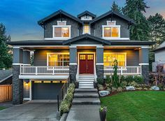 Craftsman Cottage With Lower Level Rec Room - 23656JD   2nd Floor Laundry, 2nd Floor Master Suite, Bonus Room, Butler Walk-in Pantry, CAD Available, Cottage, Craftsman, Den-Office-Library-Study, Luxury, Media-Game-Home Theater, PDF, Photo Gallery, Premium Collection   Architectural Designs