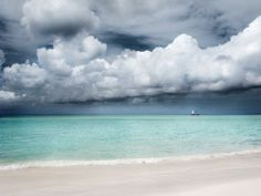 """Aruba---A photograph of a beach landscape infused onto a 8x12"""" high-gloss metal plate on Etsy, $60.00"""