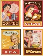 a spanish website that has all kinds vintage signs for decoupage/crafts (signs… Vintage Labels, Vintage Ephemera, Vintage Signs, Vintage Ads, Vintage Prints, Vintage Posters, Vintage Food, Printable Vintage, Retro Posters