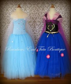 Frozen - Anna  Tutu Dress sizes 12-18m, 18-24m, 2t, 3t, 4t, 5t, 6, 7-8
