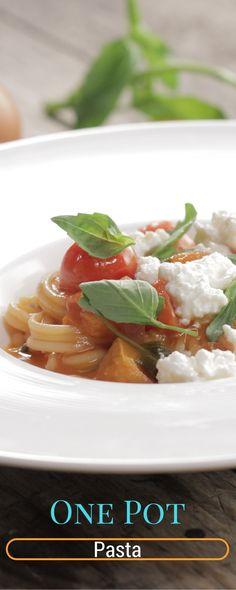 Une recette de pâtes rapide et bonne ! Lancez-vous dans le one pot pasta !