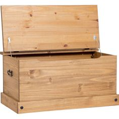Home & Haus Corona Wooden Blanket Box & Reviews   Wayfair UK
