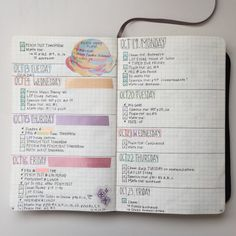 stellestudies:  11.11.15 my bullet journal system! it looks more like a to-do list system but it works for me