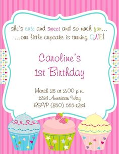 Cupcake Theme Essentials Birthday Party Package  by PartySoPerfect, $25.00