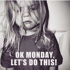 Yep pretty much how I feel this morning. Slept through my alarms and didn't get my workout in. Still sleepy from a fun weekend. Fueling up on superfoods and lots of coffee! Happy Monday Friends!