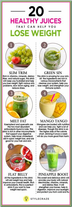 20 Healthy Juices That Can Help You Lose Weight - Quick and safe weight loss for women Lose Weight Quick, Diet Food To Lose Weight, Quick Weight Loss Tips, Losing Weight, Reduce Weight, Juices To Loose Weight, Weight Loss Meals, Healthy Weight Loss, Weight Loss Juice