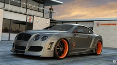 Visit The MACHINE Shop Café... ❤ Best of Bentley @ MACHINE ❤ (Metallic Bentley Continental GT)