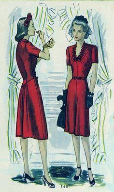 Looking ravishing in ruby, ladies! (1943)