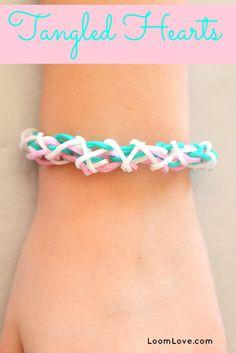 How to Make a Tangled Hearts Bracelet