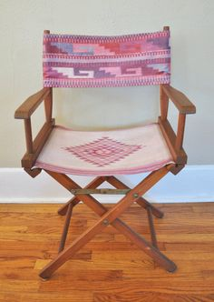 Southwestern Native American Print Director's Chair from Bucks General Store