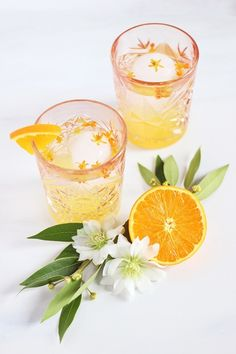 Can't wait to try this coastal orange blossom gin cocktail recipe!