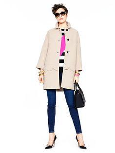 talia coat by kate spade new york