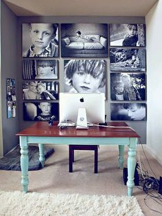 ideas para decorar con fotos - Decoracion de interiores -interiorismo - Decoración