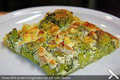 Brokkoli - Lachs - Feta - Quiche (Rezept mit Bild) | Chefkoch.de
