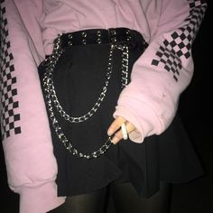 Trendy clothing for korean fashion ideas 727 Grunge Outfits, Style Outfits, Hipster Outfits, Edgy Outfits, Grunge Fashion, Look Fashion, Cool Outfits, Fashion Outfits, Womens Fashion