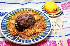 Veggies, Rice, Nutrition, Meat, Food, Vegetable Recipes, Vegetables, Essen, Meals