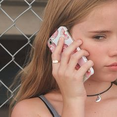 Lexee with our donuts phone case and Luna choker! Get them both at WILDESTDENIMDREAMS.COM