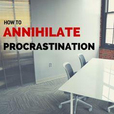 Don't let your procrastination get you down!