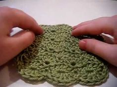 The Knurl Stitch (or Reverse Single Crochet) Left-Handed Crochet for ...