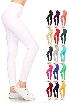 d78b1af0fb16a Leggings Depot YOGA Waist REG PLUS Women s Buttery Soft S... https