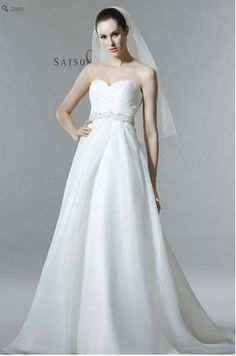 Saison Blanche Wedding Gown - Boutique Collection - Style #B3155