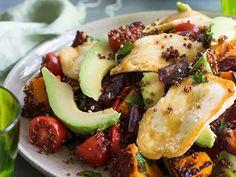 A delicious and healthy super salad.