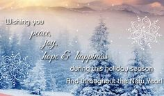 Season Greetings Wishes | ... For Peace On Season's... Free Warm Wishes eCards | 123 Greetings