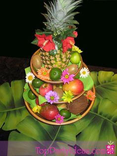 1st birthday luau cakes  | More Instructions for a Hawaiian Luau Party or Summer Beach Flip Flop ...