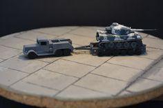 Tiger tank transport