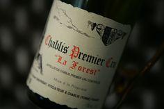 """Chablis 1er Cru """"La Forest"""" 2012 Domaine Vincent #Dauvissat. Vin blanc de Bourgogne #chablis #wine"""