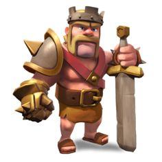 Resultado de imagen para clash of clans rey barbaro wallpaper