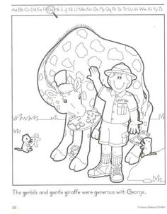 zookeeper coloring pages - photo#8