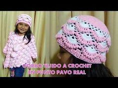 Punto tejido a crochet # 3 para colchitas de bebe - points crocheted - YouTube