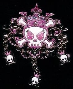 Disney Pirates Caribbean Skull Princess Pin (UC:47070) | eBay