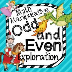 Odd and Even Exploration with Math Manipulative