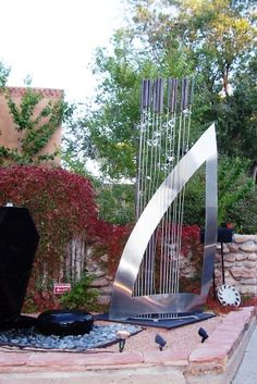 Wind Harp, Canyon Road, Santa Fe NM