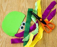 Jellyfish craft supplies - easy peasy!