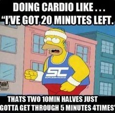 homer simpson. workout. struggles. exercise. fitness. health.  https://www.facebook.com/DiamondWarriorFitness/